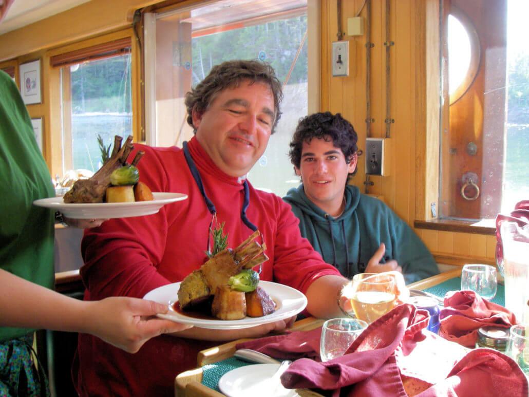 Haida Gwaii/North Coast fishing lodge all inclusive lodge meals in BC