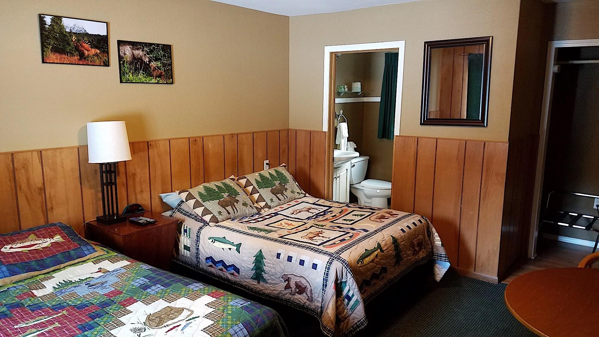 Kenai Peninsula fishing resort accomodations in Alaska Sunrise Inn