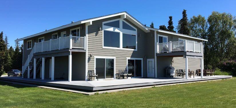 Kenai Peninsula fishing resort accomodations in Alaska