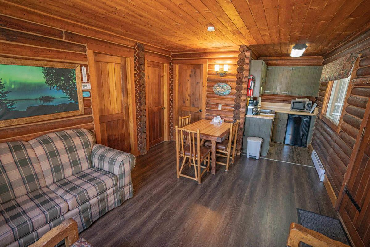fishing resort accomodations in Manitoba