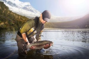 Trout and steelhead fishing in northern BC Canada