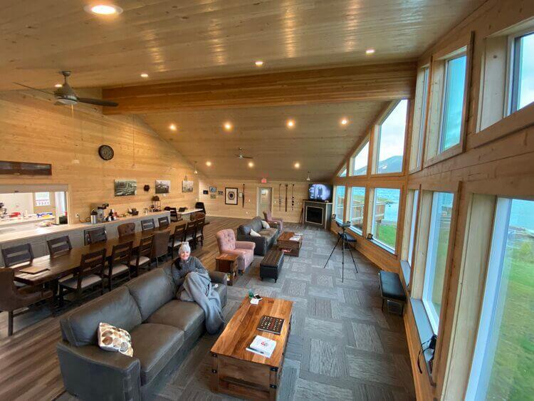 Kodiak Island fishing resort accomodations in Alaska Kodiak Brown Bear Center