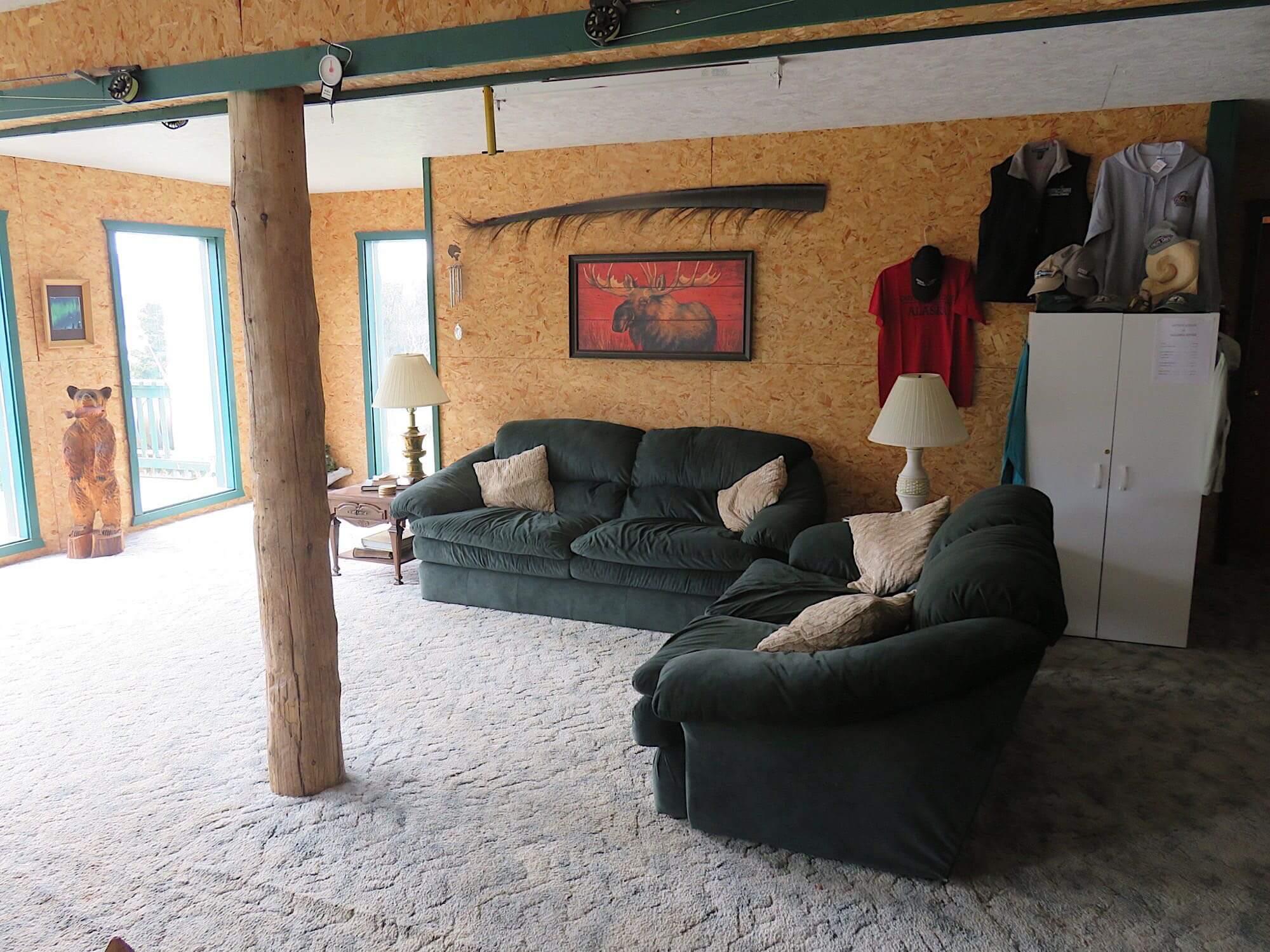 Bristol Bay fishing resort accomodations in Alaska