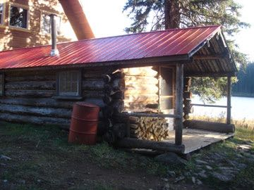Southern Interior fishing resort accomodations in BC