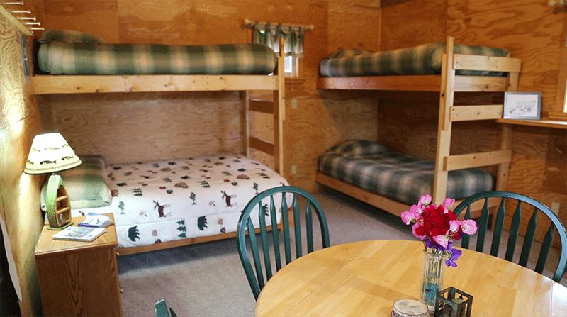 Alaskan Interior fishing resort accomodations in Alaska