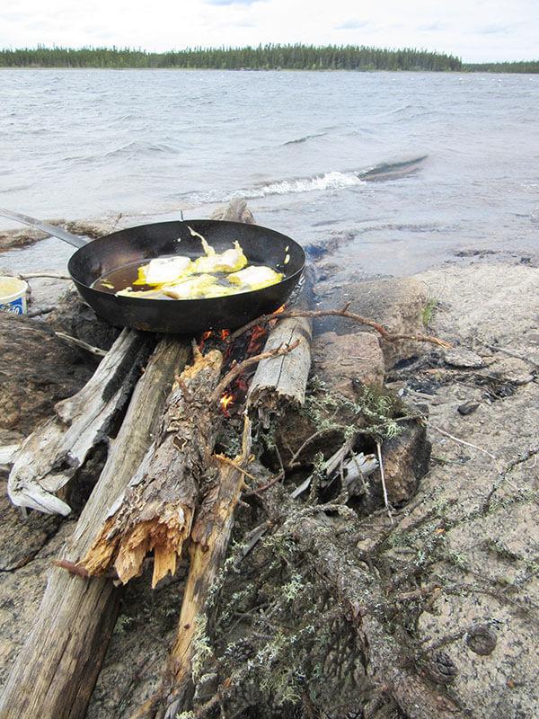 fishing lodge all inclusive lodge meals in Saskatchewan