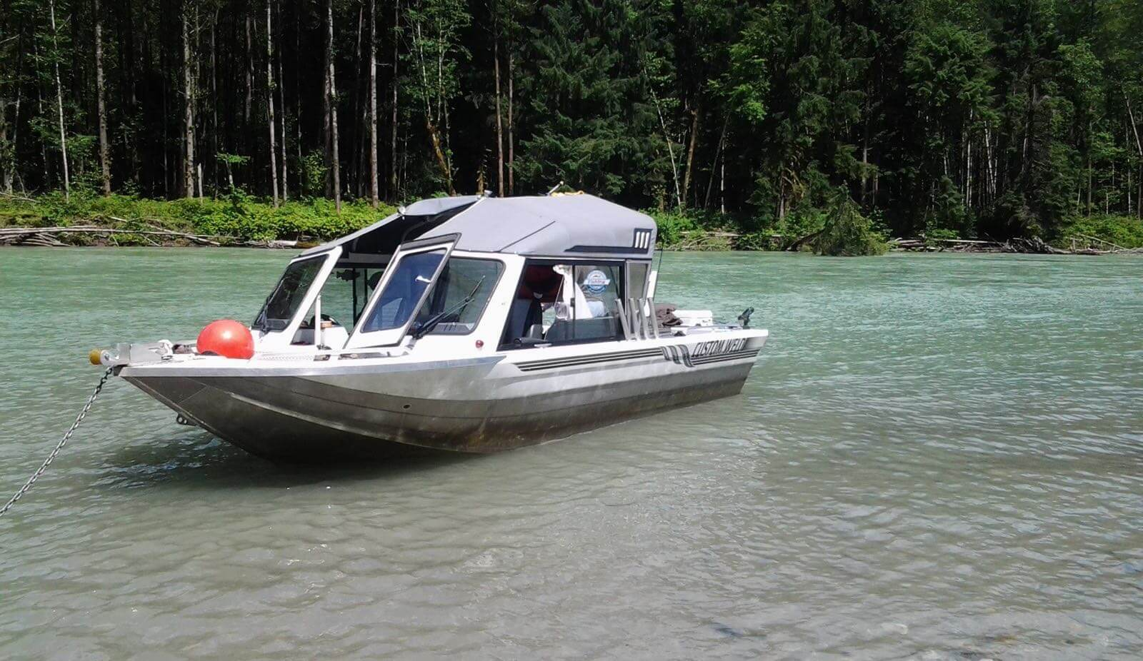Southern Interior fishing lodge boats and equipment in BC