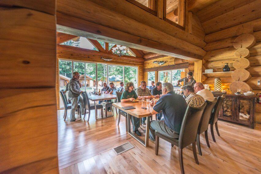 North/Central Interior fishing resort accomodations in BC