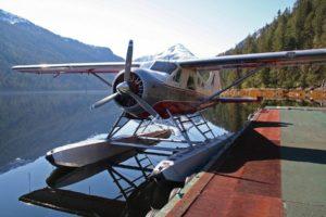 Remote fishing lodge in Southeast Alaska