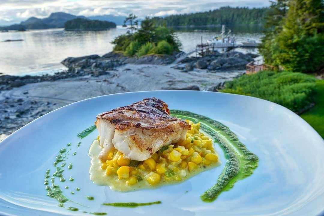 Southeast Alaska fishing lodge all inclusive lodge meals in Alaska
