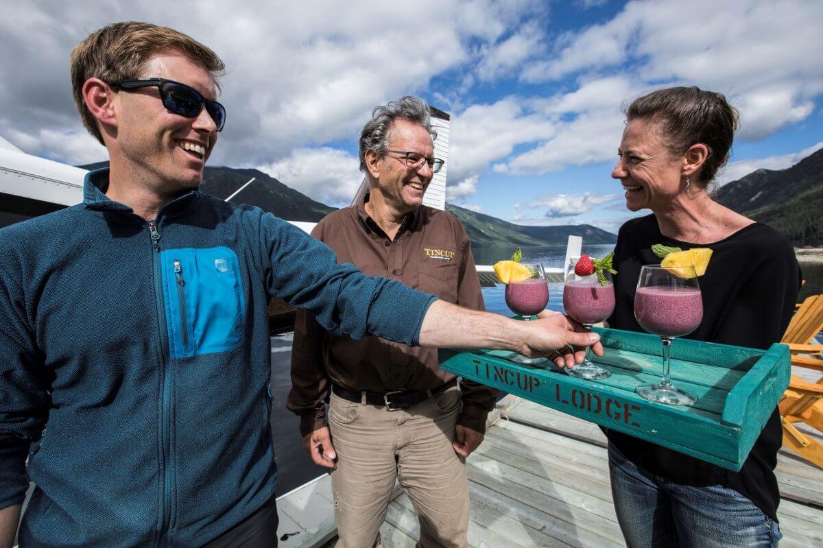 fishing lodge all inclusive lodge meals in Yukon