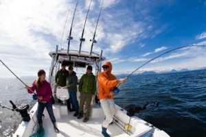 Fishing vacations on Vancouver Island Canada