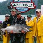 Waterfall Resort Alaska fishing lodge image19
