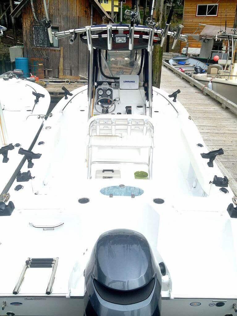 Southeast Alaska fishing lodge boats and equipment in Alaska